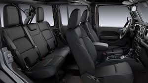 2020 Jeep® Wrangler - Exceptional Interior Features